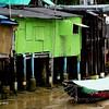 Fishermen's huts near Yung Shue Wan Pier