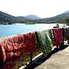 Mot Ta Village in southern Lamma Island. 2006