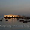 Sun rise, Yung Shue Wan Ferry Pier.