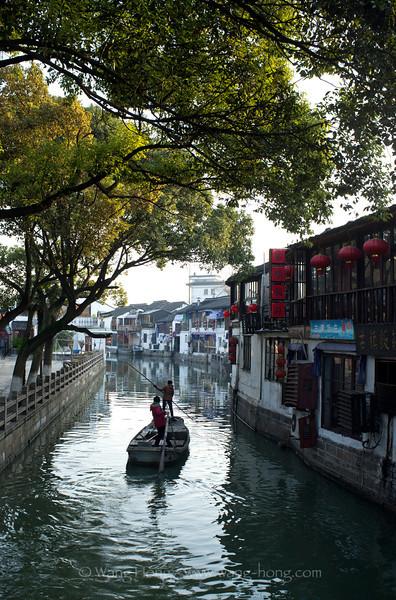 Zhujiajia early morning.
