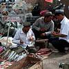 At Kashgar Bazaar. I felt a bit nervous going through this section of the bazaar.
