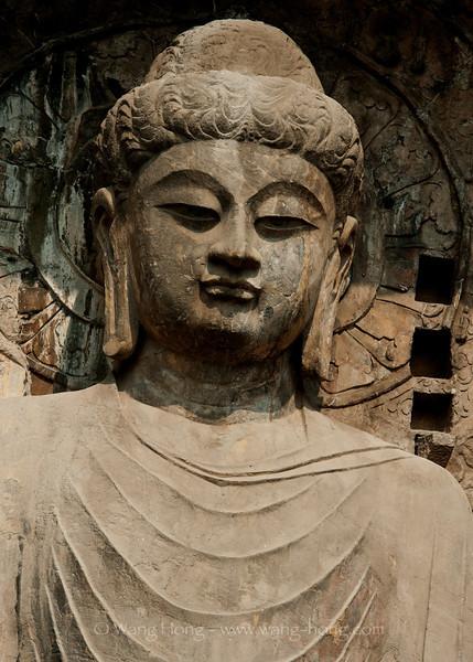 Locanabuddha at Longmen Grottos, Luoyang, Henan Province