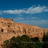 Bizaklick Thousand Buddha Cave near Gaochang ruins in Turpan, Xinjiang
