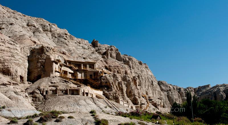 Kizil Caves near Kucha, Xinjiang
