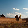 Jiayuguan, west-most fortress of the Ming Great Wall, Gansu Province