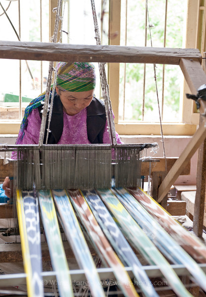 At a traditional silk workshop in Jiya township, Hotan