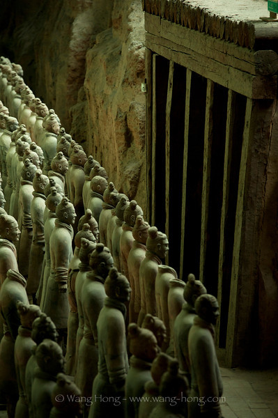 Terracotta soldiers, Xi'an, Shaanxi Province