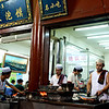 Muslim area in Xi'an, Shaanxi Province
