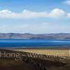 First glance of Namtso from a far hill top