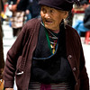 Elderly Tibetan woman on Barkhor Street