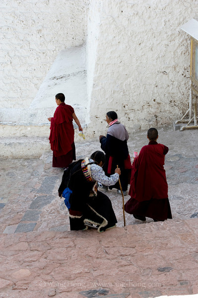 At the Potala Palace from Gansu