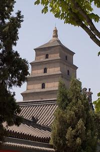 Big Wild Goose Pagoda-Big Wild Goose Pagoda-Shaanxi-Xi'An-China