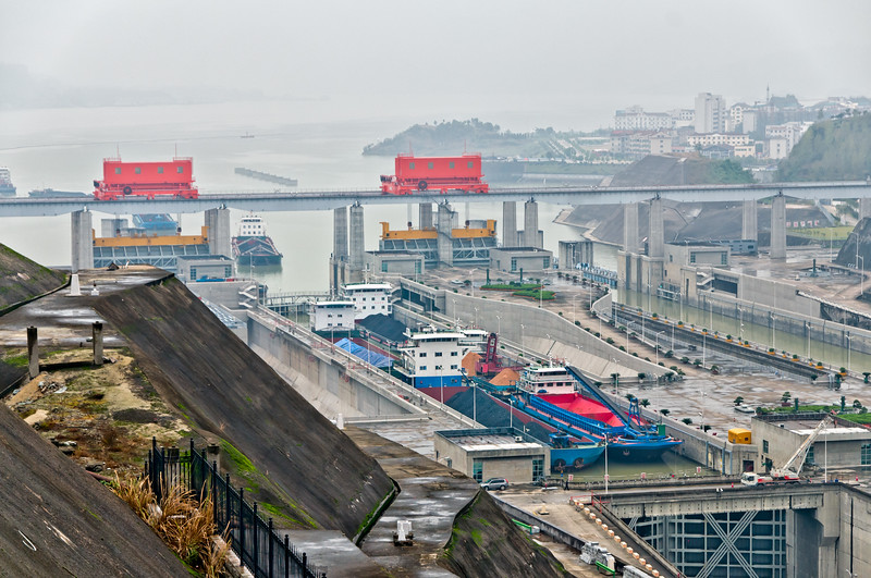 Three Gorges Dam Locks