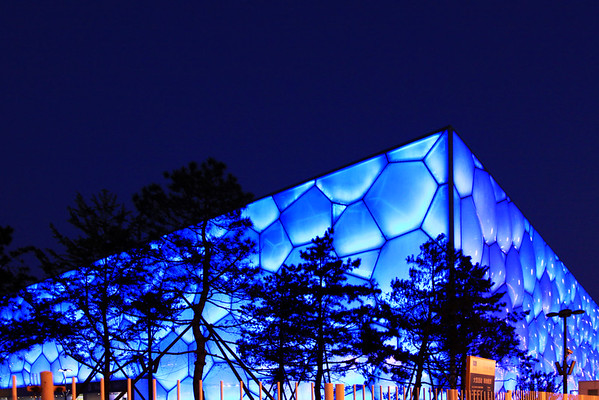 Water Cube, Olypmic Village, Beijing