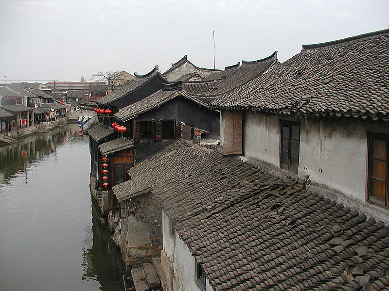 A view from above in Xitang