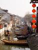 Rush hour in Zhouzhuang