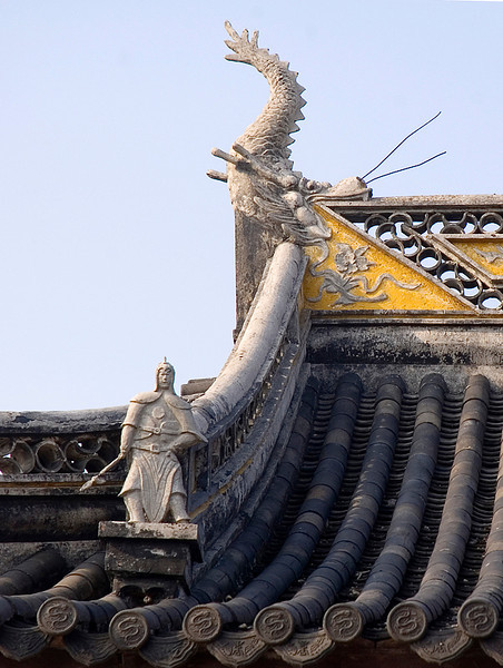 Typical roof structure and ornament