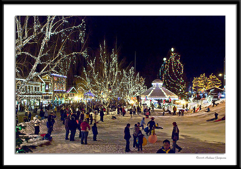 Its truly a winter wonderland of lights, sights and sounds that bring out the Christmas spirit of joy and peace on earth.