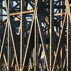 Bridge details.  Behind this bridge is Paul Brown Stadium, where the Bengals play football.