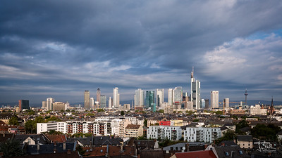 Frankfurt Skyline from Protilab Building