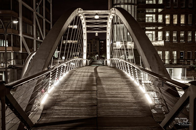 Bridge in Speicherstadt