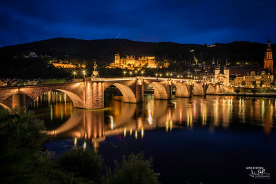 Heidelberg Castle & Carl Theodor Old Bridge