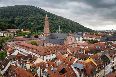 View from Heidelberg Castle