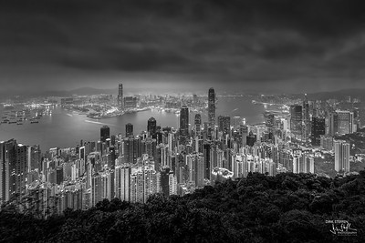 Hong Kong Skyline from Lugard Road