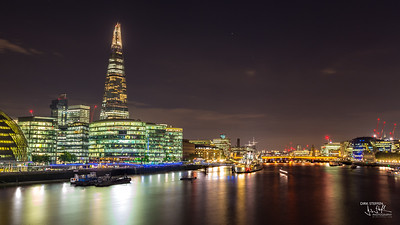 Thames river & The Shard