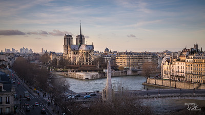 La Notre Dame, view from Arab World Centre