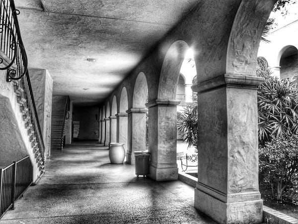 Corridor at Balboa Park