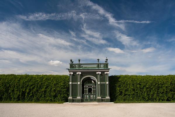 Garden Gate Vienna, Austria June 2011