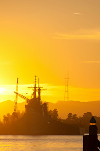 Sutro Tower in sunset
