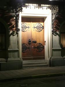 Pretty Stockholm door