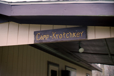 Camp-Krotchkey Sign