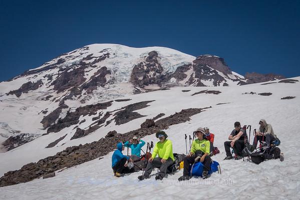 Rest Break on Muir Snowfields