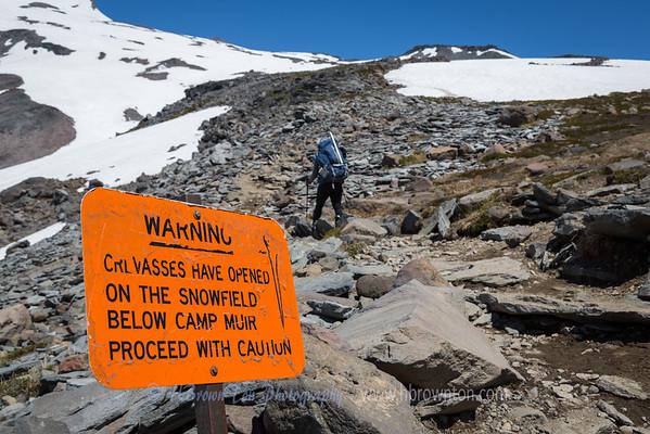 Crevasse Warning