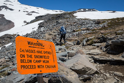 Crevasse Warning