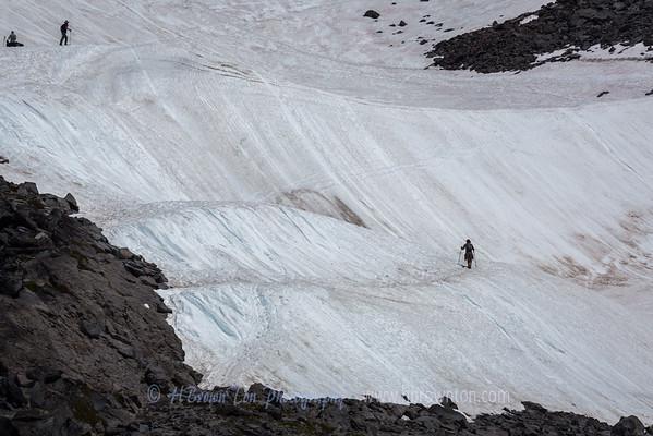 Edge of Muir Snowfields