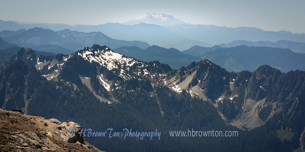 Mt. St. Helens in Distance