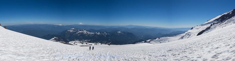 Muir Snowfields Panorama