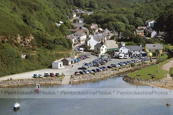 Solva from the Gribben.