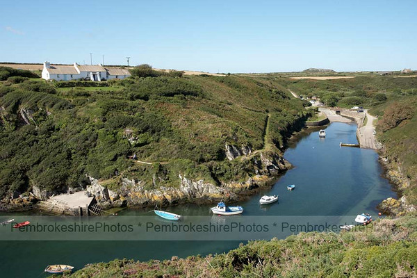 Passing Porthclais, St David's
