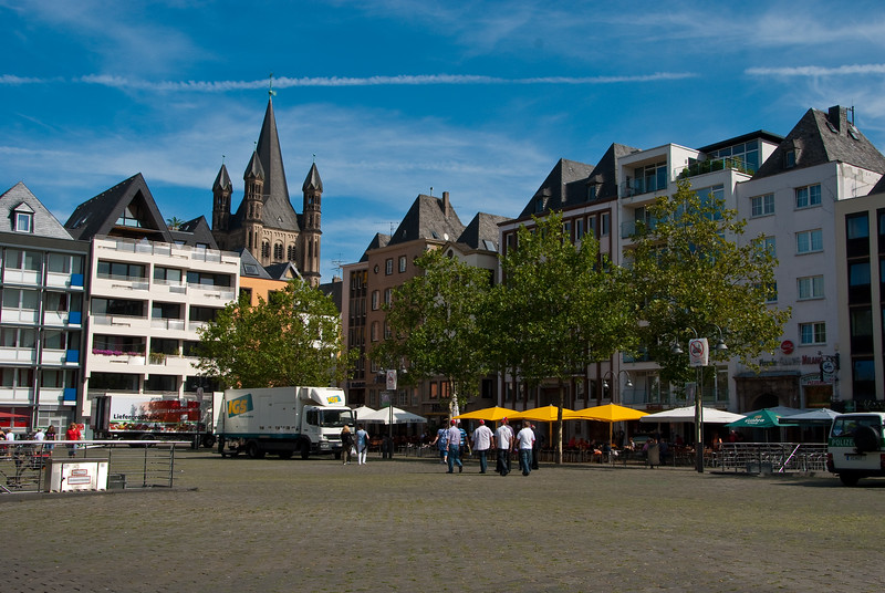 Square in Cologne