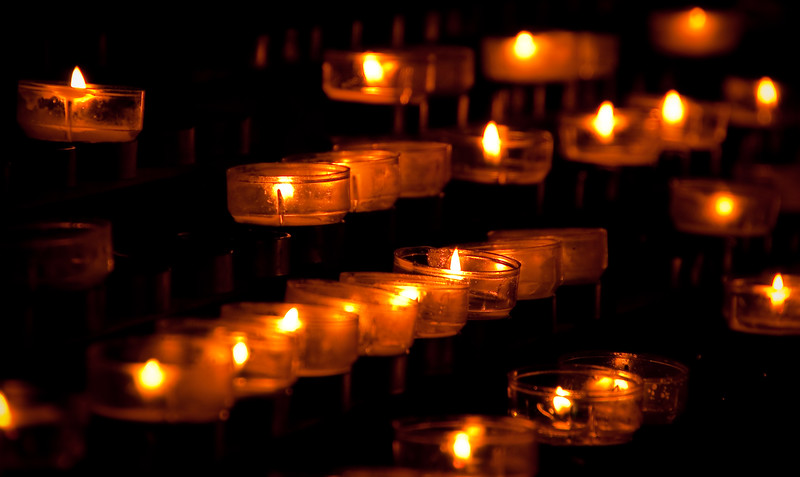 Candles in Cologne Cathederal