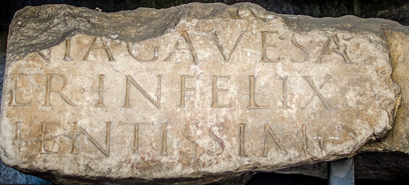 Cologne Dom - old sign