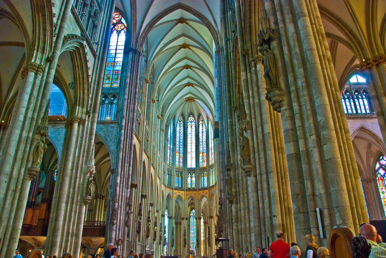 Inside Cologne Cathederal