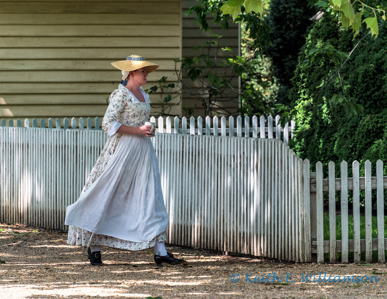 The daily commute, in colonial times