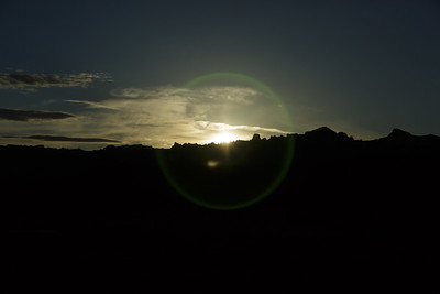 Lens Flare Sunrise - 033015-723AM