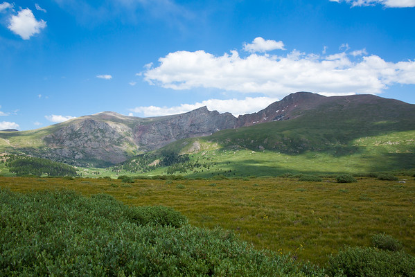 Mt. Bierstadt and Sawtooth Ridge from Guanella Pass